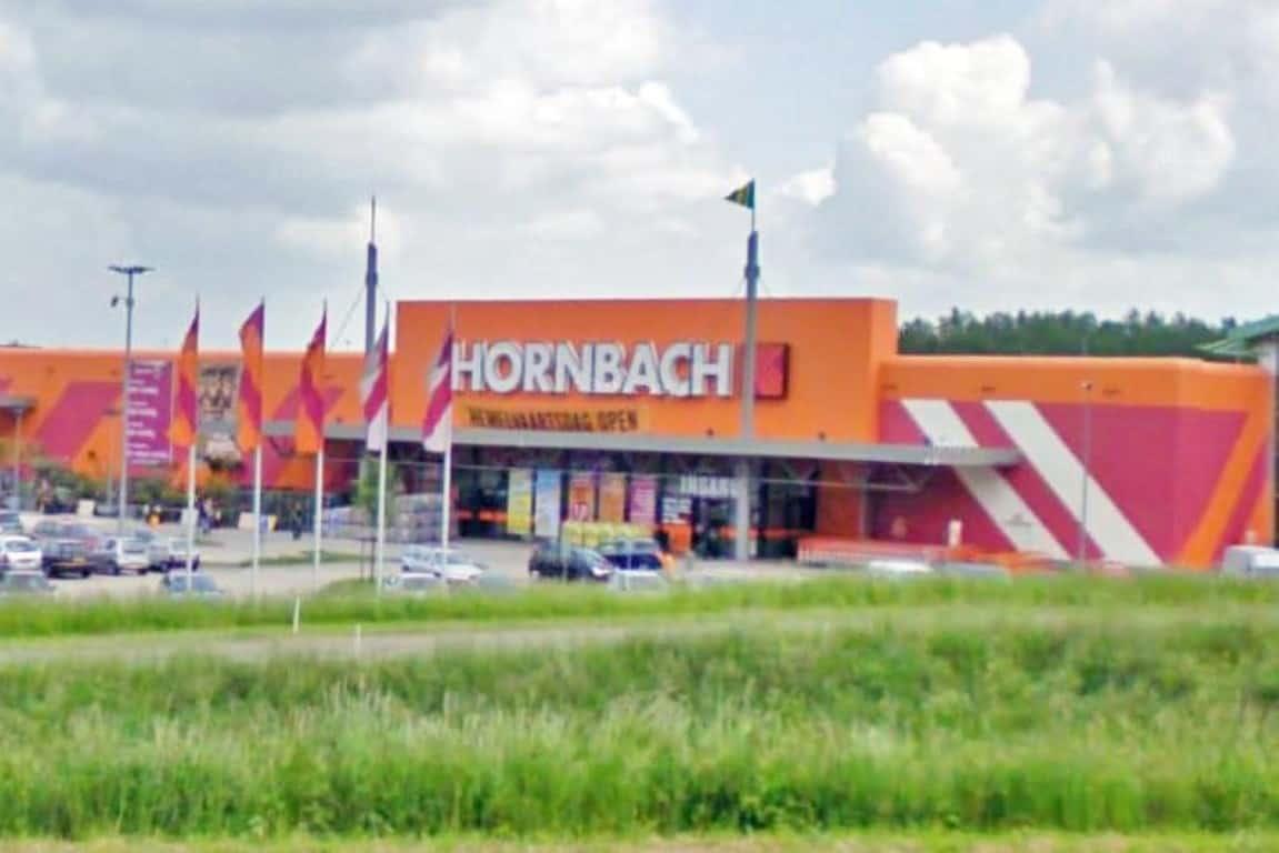 Ook Hornbach heeft nu online winkel