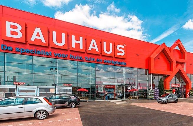 Bauhaus webshop voor reserveren en afhalen