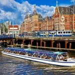 Tijdelijke Amazon-winkel in Amsterdam