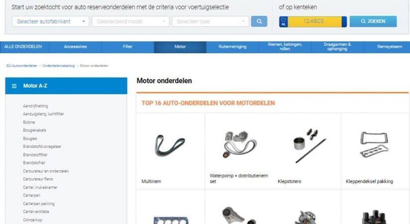 Automotoren onderdelen bij euautoonderdelen.nl